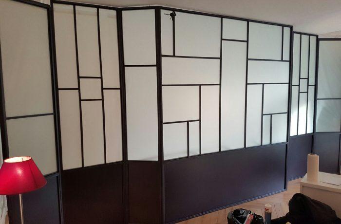 verri re opaque. Black Bedroom Furniture Sets. Home Design Ideas