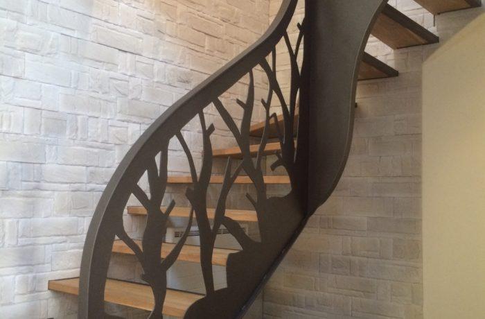 "escalier ""végétal"""