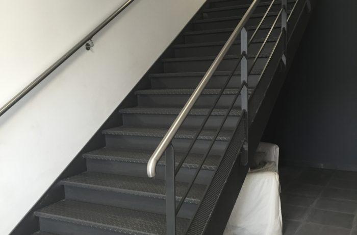 escalier type industriel